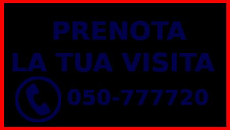 prenotazioni visite specialistiche telefono 050777720