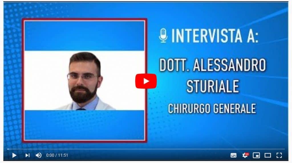 Immagine slide intervista radiofonica dott. Sturiale Proctologo