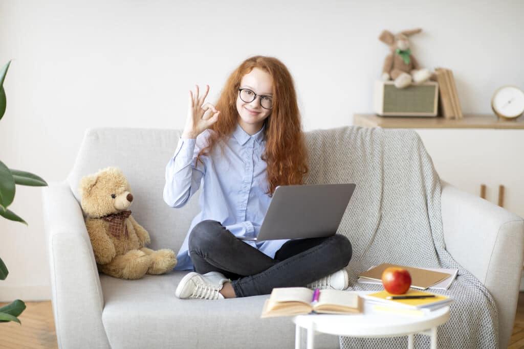 una vista perfetta agevola apprendimento bambini